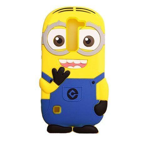 LG G4c  etui gumowe 3D minionki . PROMOCJA!!!