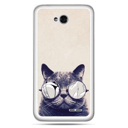 Etui na LG L70 kot w okularach