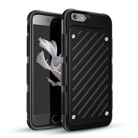 Pancerne etui Shockproof na iPhone 7 - Czarny.