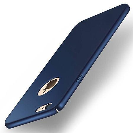 Etui na telefon iPhone 6 / 6s  Slim MattE - Granatowy.