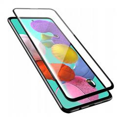 Samsung Galaxy A71 - Hartowane szkło 5D Full Glue - Czarny.