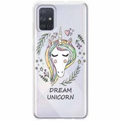 Etui na Samsung Galaxy A51 - Dream unicorn - Jednorożec.