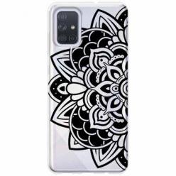 Etui na Samsung Galaxy A51 - Kwiatowa mandala.
