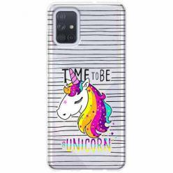 Etui na Samsung Galaxy A51 - Time to be...Jednorożec.