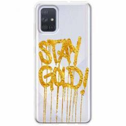 Etui na Samsung Galaxy A51 - Stay Gold.