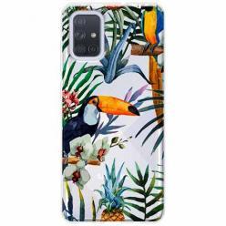 Etui na Samsung Galaxy A51 - Egzotyczne tukany.