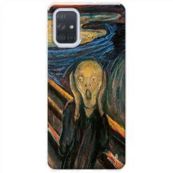 Etui na Samsung Galaxy A51 - Krzyk Munka