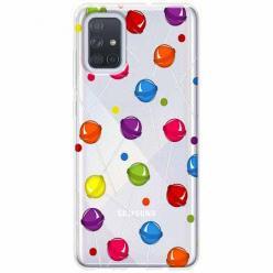 Etui na Samsung Galaxy A71 - Kolorowe lizaki.