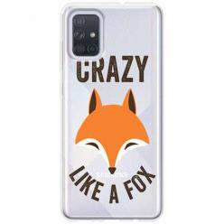 Etui na Samsung Galaxy A71 - Crazy like a fox.