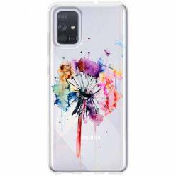 Etui na Samsung Galaxy A71 -  Watercolor dmuchawiec.