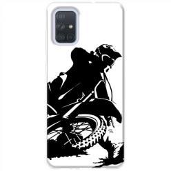 Etui na Samsung Galaxy A71 - Motocykl Cross