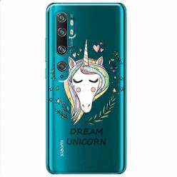Etui na Xiaomi Mi Note 10 Pro - Dream unicorn - Jednorożec.