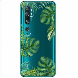 Etui na Xiaomi Mi Note 10 Pro - Zielone liście palmowca