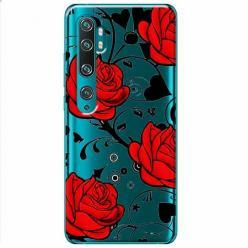 Etui na Xiaomi Mi Note 10 Pro - Czerwone róże.