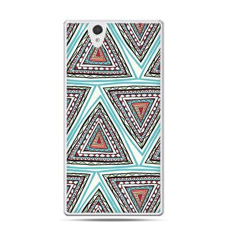 Etui na Sony Xperia Z azteckie trójkąty