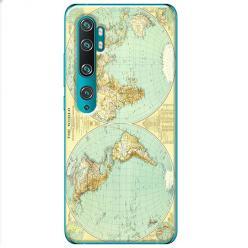 Etui na Xiaomi Mi Note 10 Pro - Mapa świata