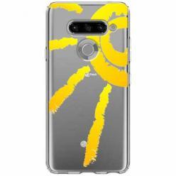 Etui na LG K50s - Wakacyjne słońce.