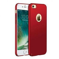 Matowe Etui na telefon iPhone SE 2020 - Slim MattE - Czerwony.