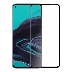 Huawei P40 Lite - Hartowane szkło 5D Full Glue - Czarny.