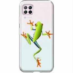 Etui na Huawei P40 Lite - Zielona żabka.