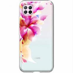 Etui na Huawei P40 Lite - Bajeczny kwiat.