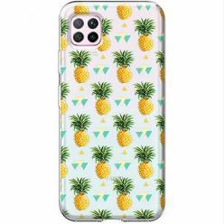 Etui na Huawei P40 Lite - Ananasowe szaleństwo.