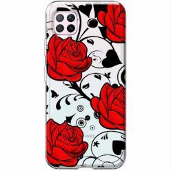 Etui na Huawei P40 Lite - Czerwone róże.