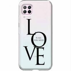 Etui na Huawei P40 Lite - All you need is LOVE.