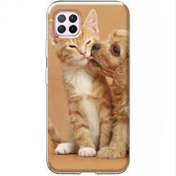 Etui na Huawei P40 Lite - Jak pies z kotem