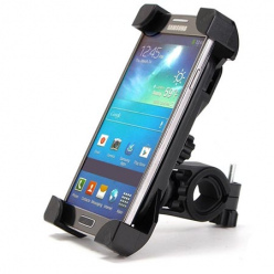 Uchwyt na telefon do roweru Graber - czarny.