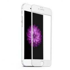 iPhone 6 / 6s Hartowane szkło Full Glue na cały ekran 5d - biały.