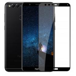Huawei Honor 7X hartowane szkło 5D Full Glue - Czarny.