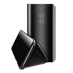 Etui na Huawei Y5P  Flip Clear View z klapką - Czarny.