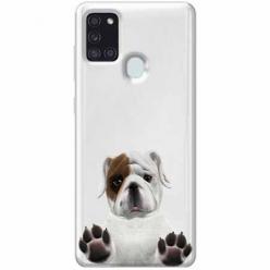 Etui na Samsung Galaxy A21s - Słodki szczeniaczek.