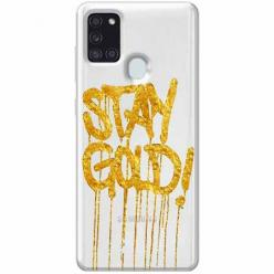 Etui na Samsung Galaxy A21s - Stay Gold.
