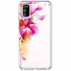 Etui na Samsung Galaxy M21 - Bajeczny kwiat.
