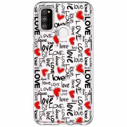 Etui na Samsung Galaxy M21 - Love, love, love…