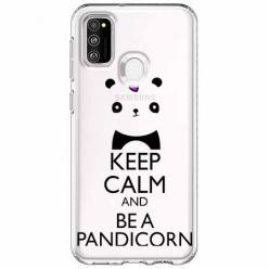 Etui na Samsung Galaxy M21 - Keep Calm… Pandicorn.