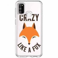 Etui na Samsung Galaxy M21 - Crazy like a fox.