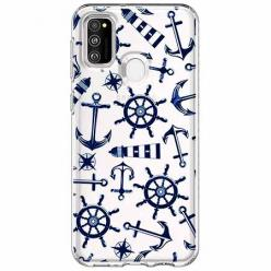 Etui na Samsung Galaxy M21 - Ahoj wilki morskie.
