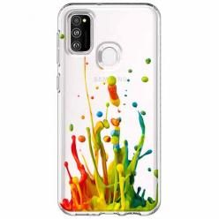 Etui na Samsung Galaxy M21 - Kolorowy splash.