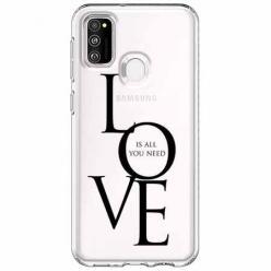 Etui na Samsung Galaxy M21 - All you need is LOVE.