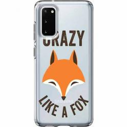 Etui na Samsung Galaxy S20 - Crazy like a fox.