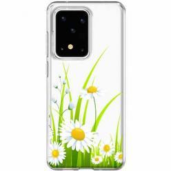Etui na Samsung Galaxy S20 Ultra - Polne stokrotki.