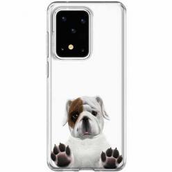 Etui na Samsung Galaxy S20 Ultra - Słodki szczeniaczek.