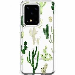 Etui na Samsung Galaxy S20 Ultra - Kaktusowy ogród.