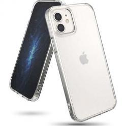 Etui na iPhone 12 silikonowe crystal case - bezbarwne.