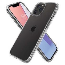 Etui na iPhone 12 Pro Max silikonowe crystal case - bezbarwne.