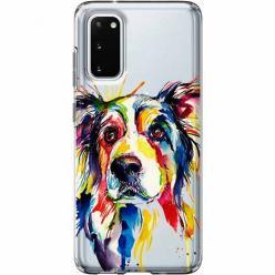 Etui na Samsung Galaxy S20 Plus - Watercolor pies.