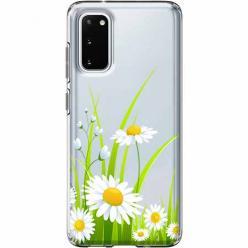 Etui na Samsung Galaxy S20 Plus - Polne stokrotki.